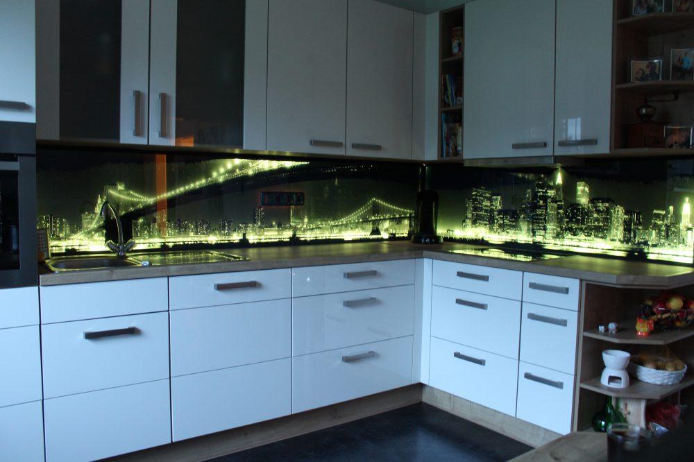 Glas Spritzschutz Kuche - limoobile -